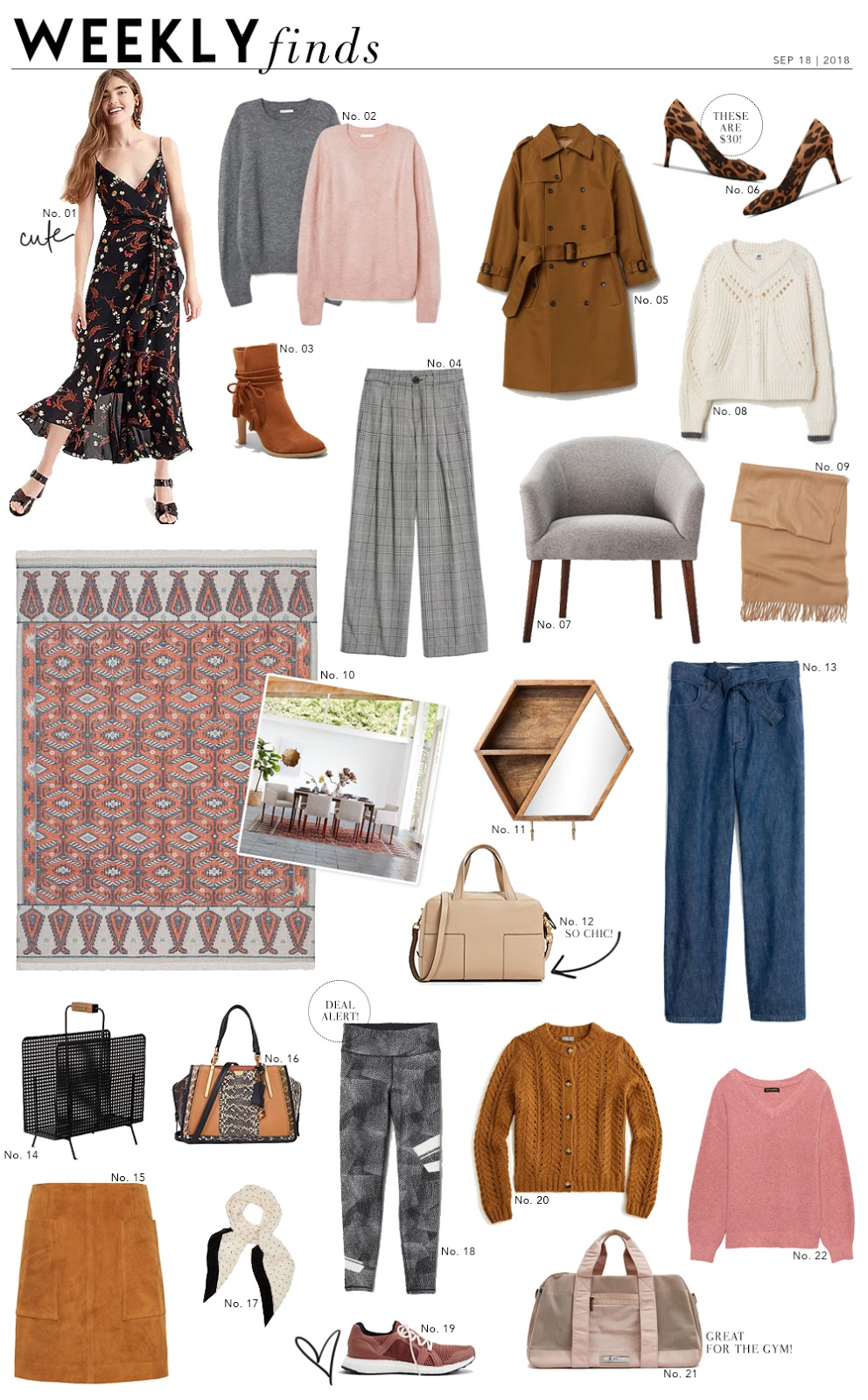 Shopping File: Affordable Pieces for Fall