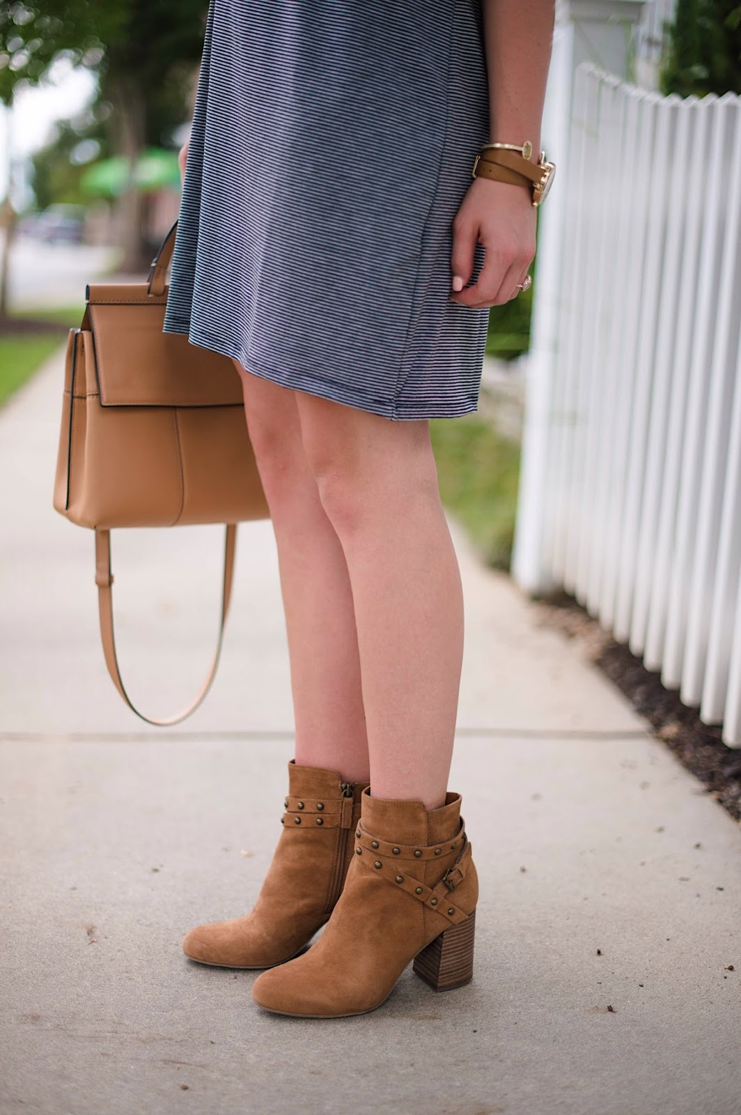 Brown Booties - Click through to see more on Something Delightful Blog!