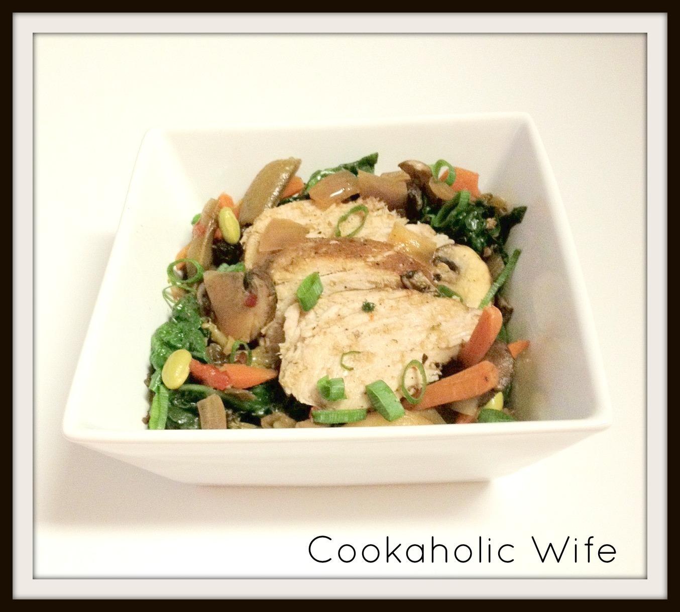 Cookaholic Wife: Crock Pot Asian Pork with Mushrooms