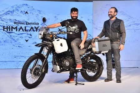 Royal Enfield launches Himalayan- the most definitive motorcycle for your Himalayan adventure