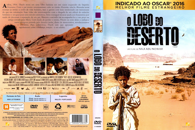Capa DVD O Lobo Do Deserto