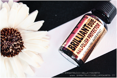 application BrilliantDue Layla Cosmetics top coat