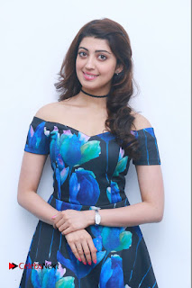 Actress Praneetha Latest Stills in Floral Short Dress at Enakku Vaaitha Adimaigal Press Meet  0006.jpg