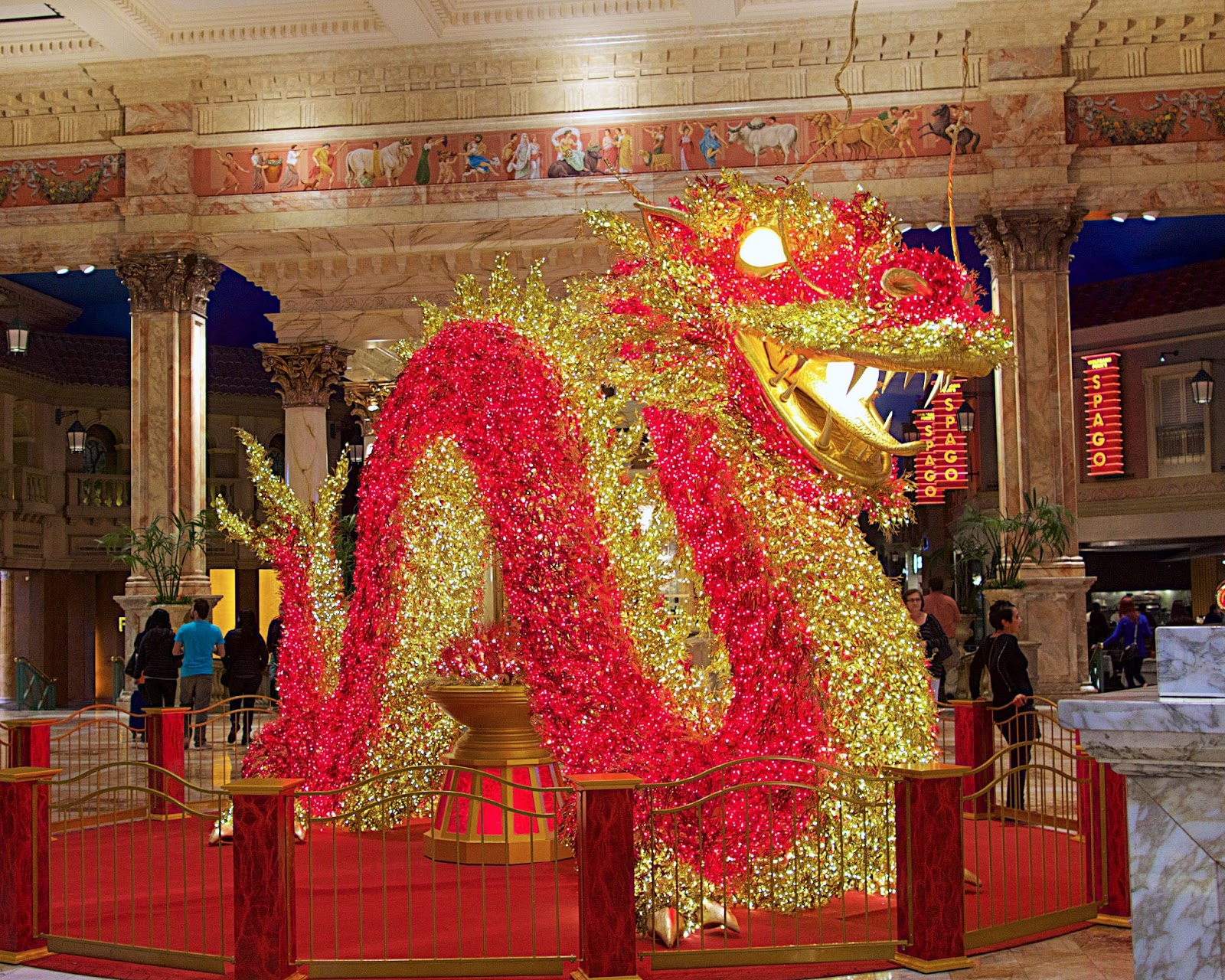 Chinese New Year Forum Shops