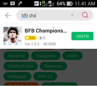 Download BFB Champions APK DATA full for Android Indonesia
