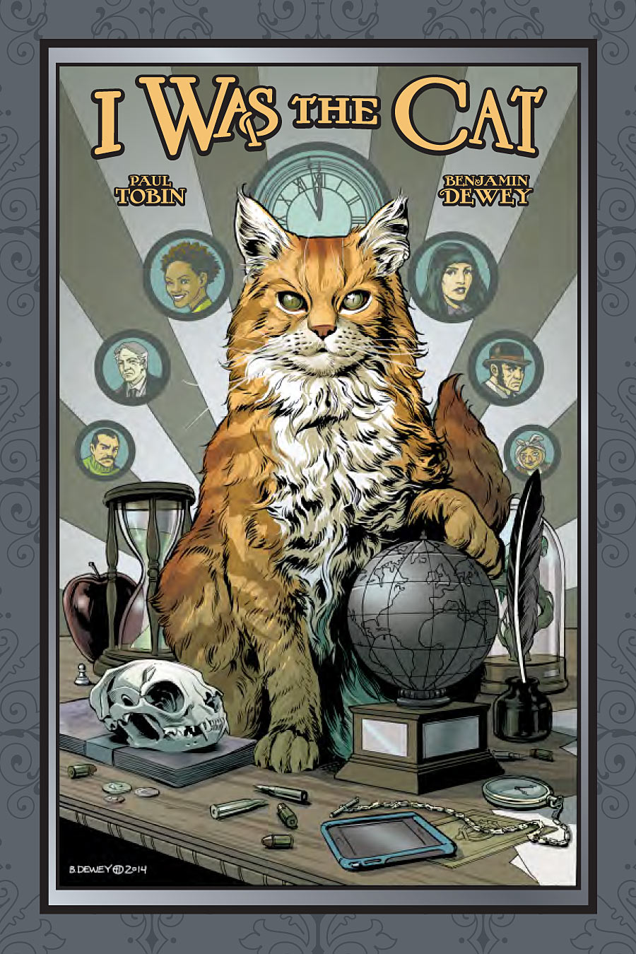I Was The Cat by Paul Tobin