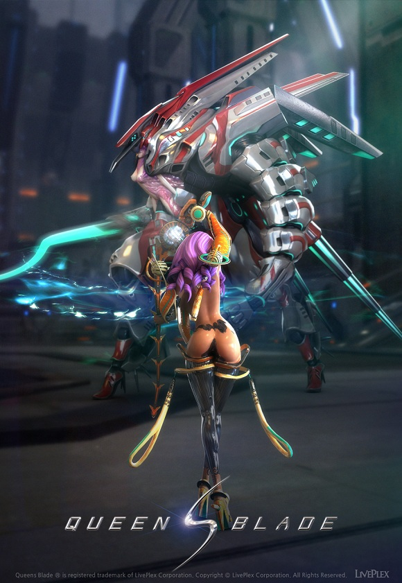 Queens Blade Online  English teaser website up  MMO Culture