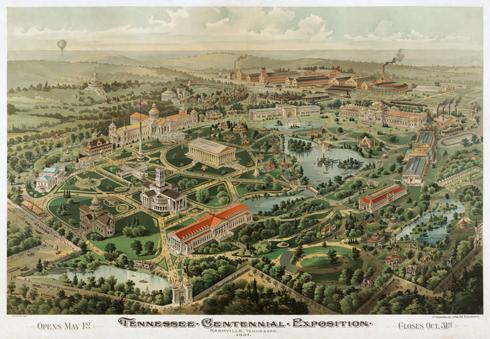 Nashville Parthenon Centennial Park