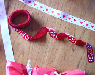 pretty romantic ribbons