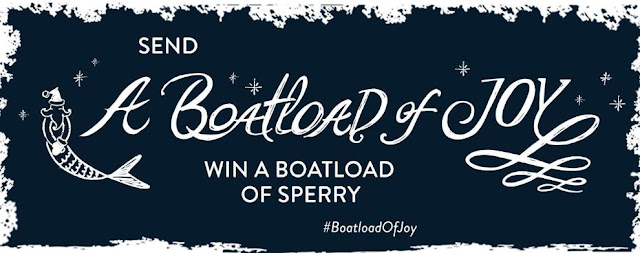 SPERRY BOATLOAD OF JOY SWEEPSTAKES