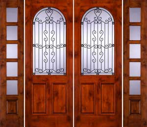 Puertas Rusticas Para Casas O Cabanas Proyectos De Casas - Modelos-de-puertas-rusticas