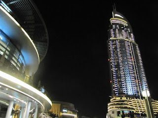 hotel Adress downtown, Burj Khalifa