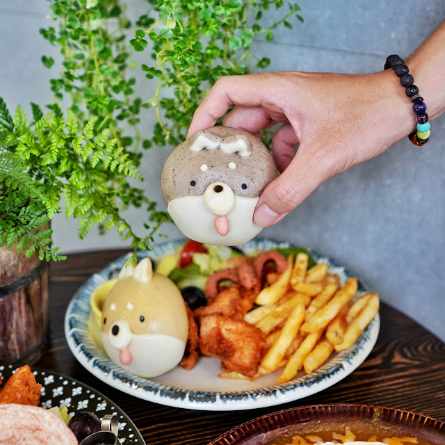 台南美食【豆弄.手作】可愛柴犬饅頭