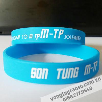 Vòng tay cao su SON TUNG M-TP