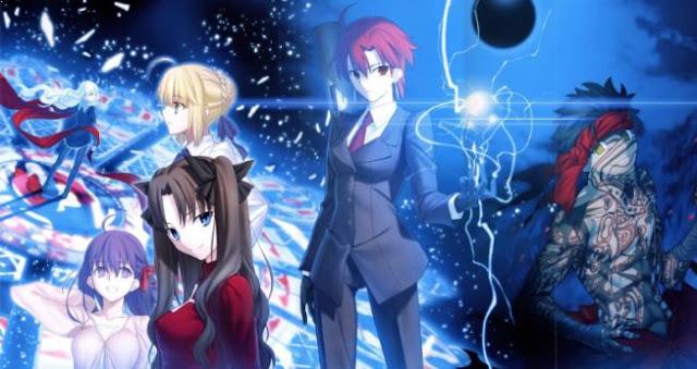 Fate series - Daftar Anime Fantasy Terbaik Sepanjang Masa