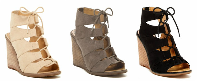 Melrose & Market Calista Wedge Sandals $30 (reg $50)