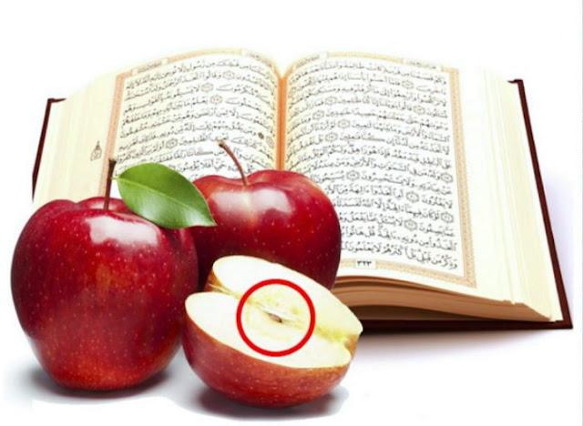 Menakjubkan, Ini Yang Akan Terjadi Jika Buah Apel Dibacakan Al-Quran