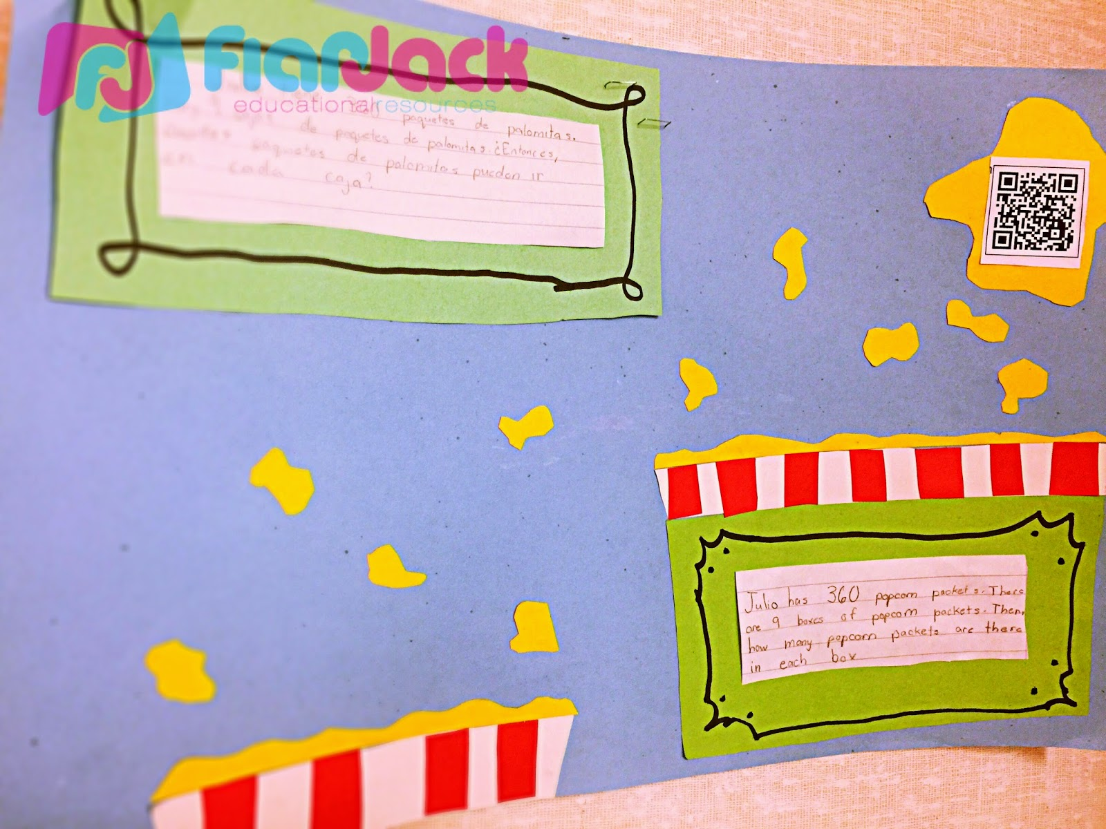 Flapjack Educational Resources Student Created Qr Code Math Posters Tutorial