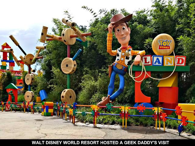 Woody Statue
