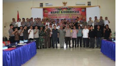 Polres Minsel Bersama TNI Siap kawal Perayaan Natal dan Tahun Baru