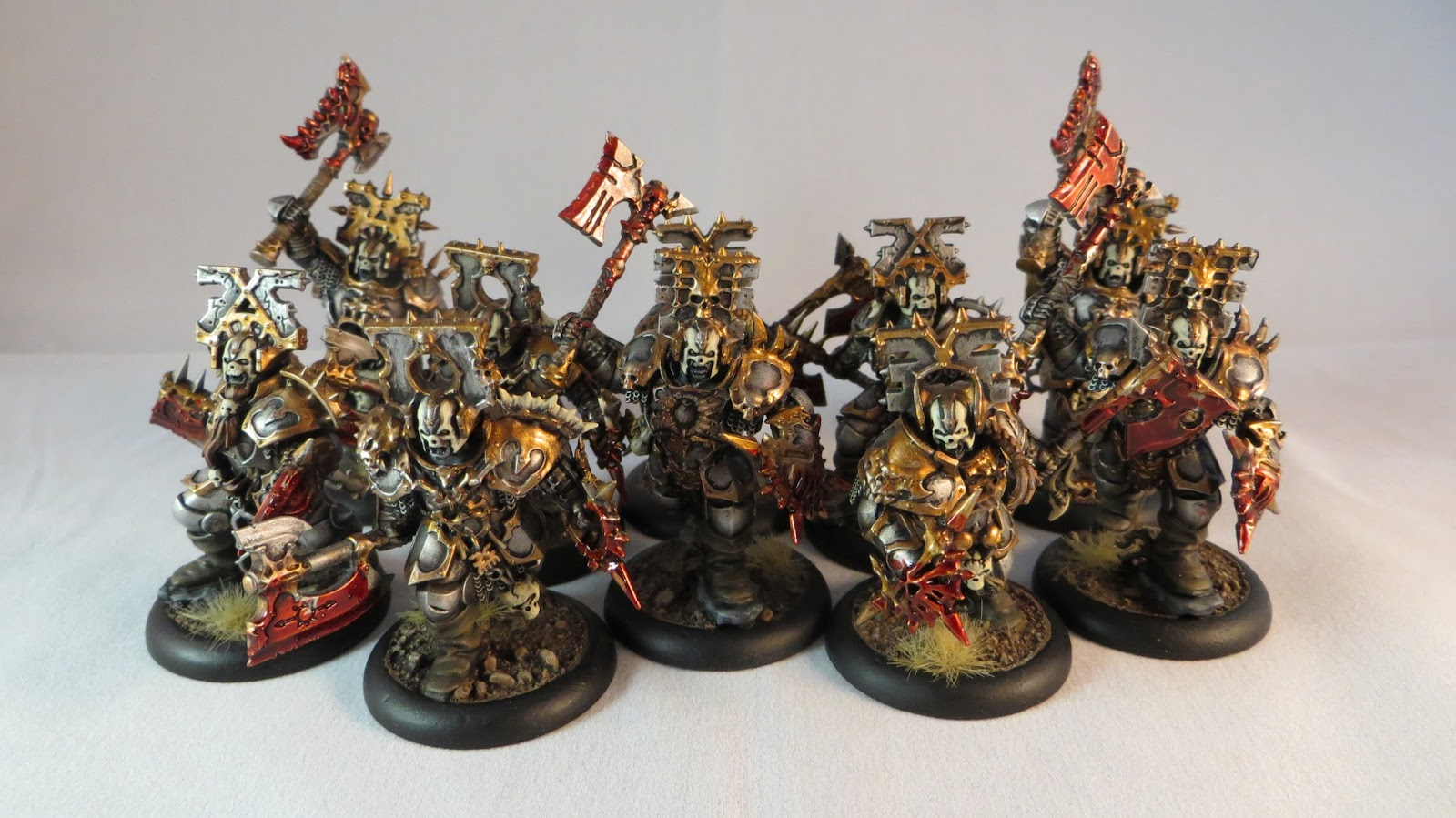Wargamers Workbench Age Of Sigmar Painting Update March