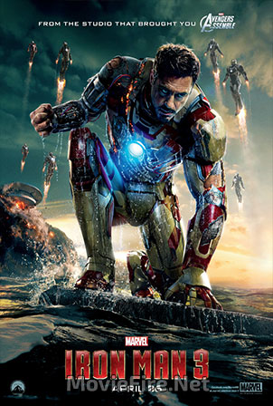 Iron Man Three (2013) 1080p