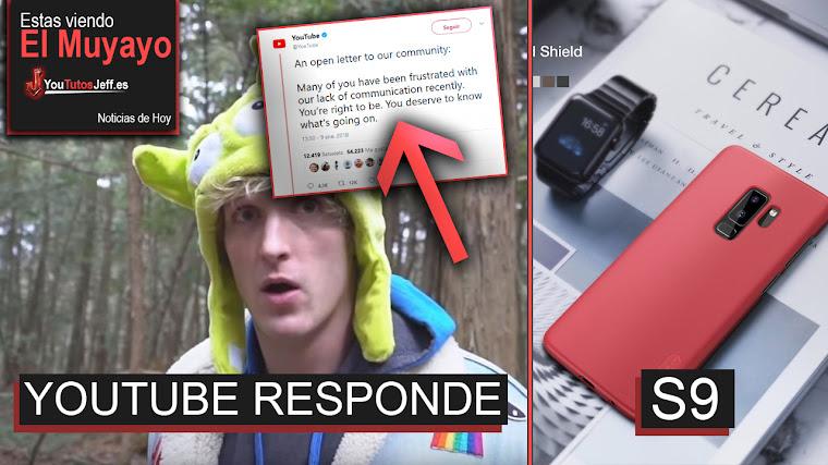 Youtube responde al caso de Lopan Paul, Tarjeta con pantalla, NVIDIA Coche, Galaxy S9 | El Muyayo