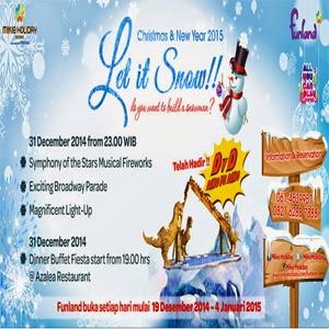 Pesta Kembang Api 10 Ribu Tembakan Berlangsung di Mikie Holiday