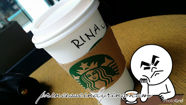 starbucks cup with a name on it