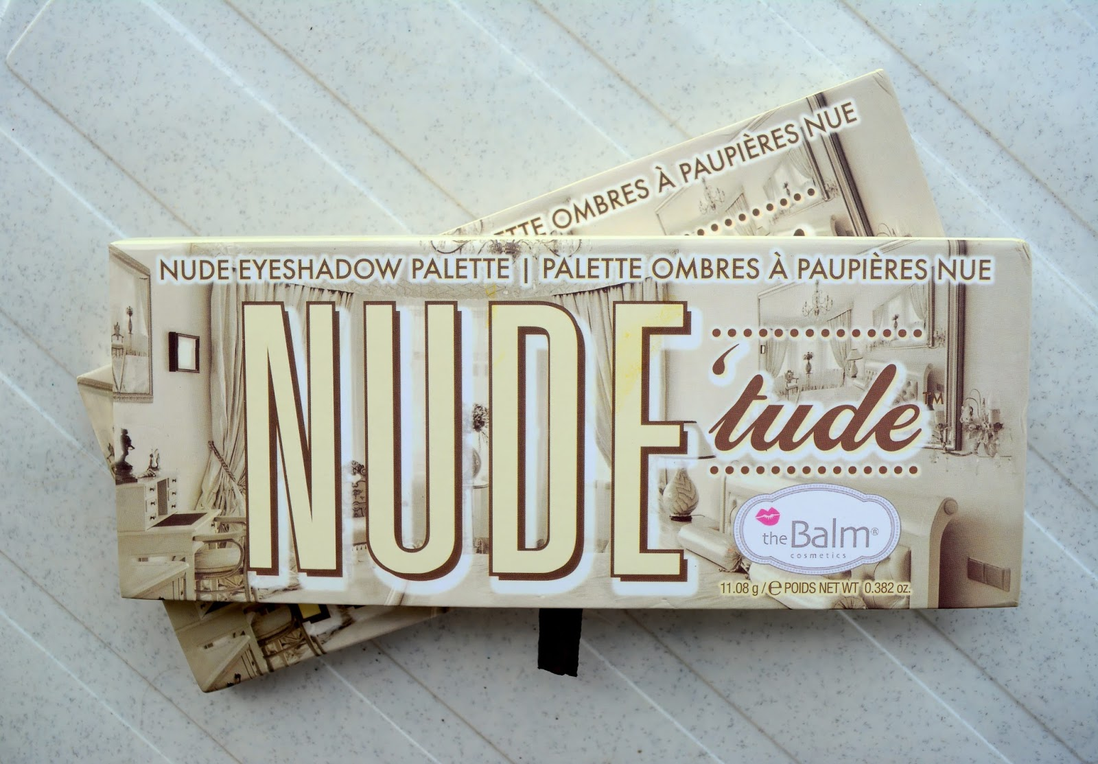 theBalm Nude Tude Eyeshadow Palette Review & Swatch