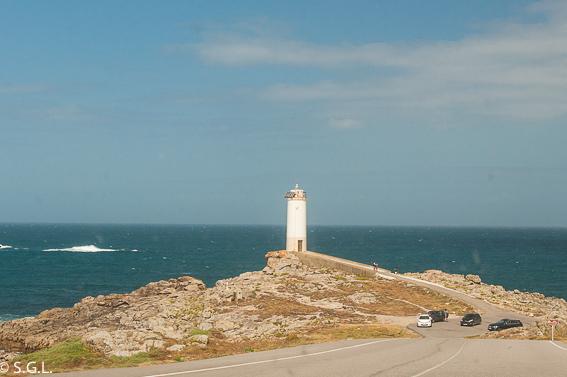 Faro Roncudo. Roadtrip Costa Da morte. Galicia