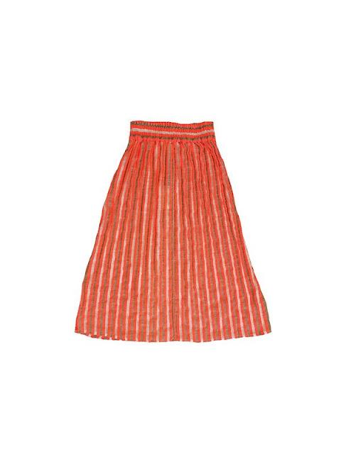 Ace & Jig Ra Ra Midi Skirt in Soleil
