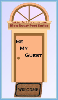 Be My Guest, a series of guest posts by multiple bloggers | Presented by www.BakingInATornado.com | #MyGraphics #blogging