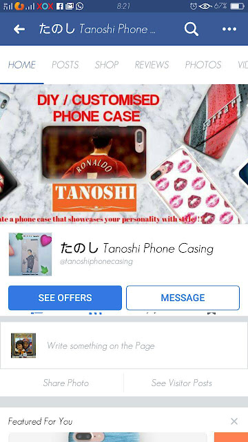 Customized Phone Casing dengan Tanoshi Phone Casing
