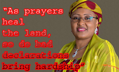 Aisha Buhari's cabal comment: APC ready to face PDP on family issues – Presidency