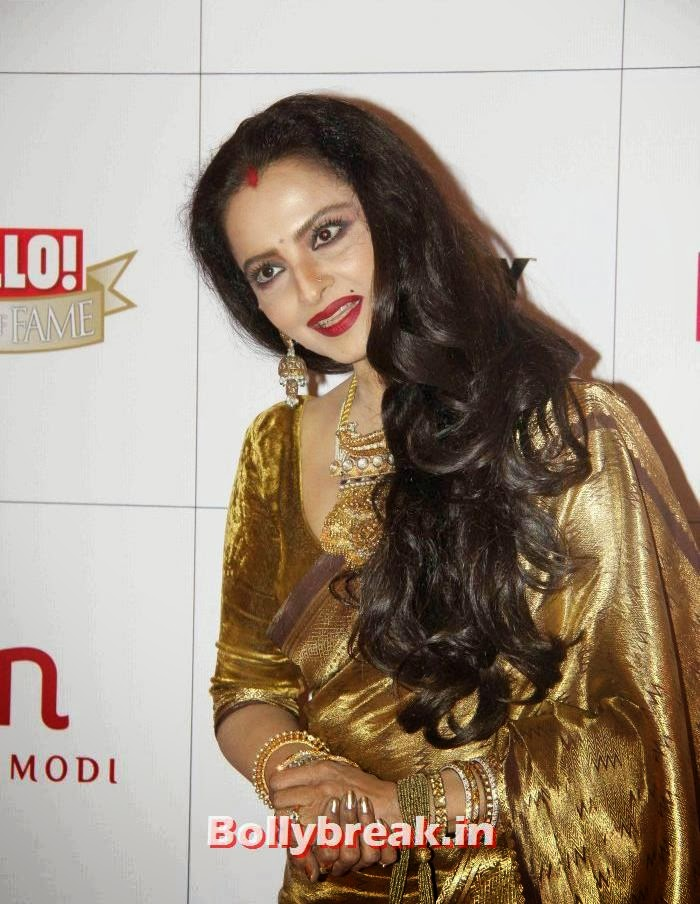 Rekha, Hello Awards 2013 Pics