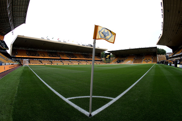 General view inside the stadium prior to the Premier League match between Wolverhampton Wanderers and Everton FC at Molineux on August 11, 2018 in Wolverhampton, United Kingdom.
