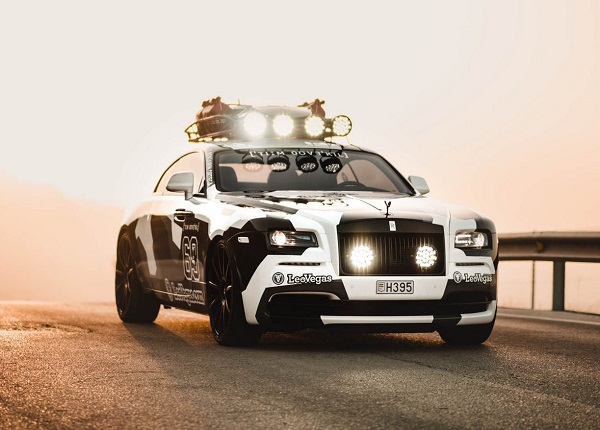 Rolls-Royce Wraith de Jon Olsson