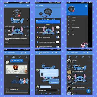 BBM Kartun Stitch versi 2.11.0.16 Apk