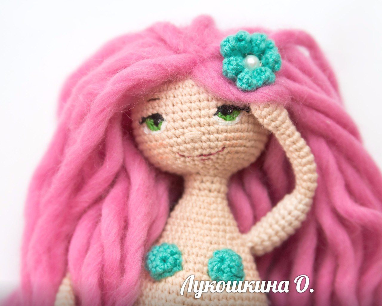 Amigurumi Mermaid doll free pattern