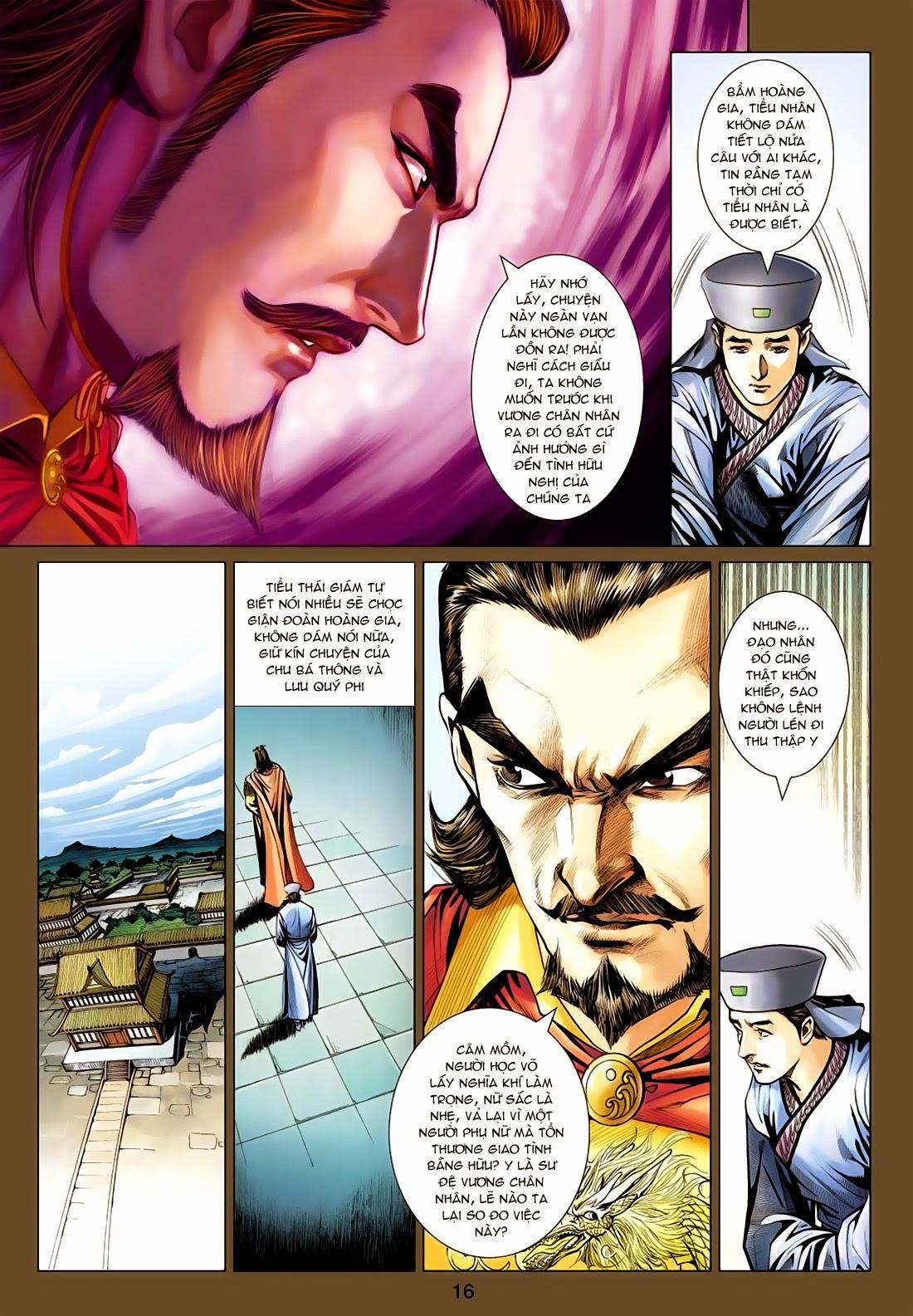 Anh Hùng Xạ Điêu anh hùng xạ đêu chap 77: thế thượng tối cường võ công trang 16