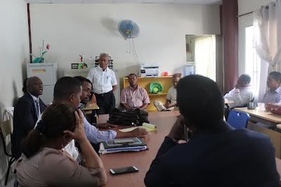 Técnicos de Anproted en Cabral realizan encuentro continuar plan de lucha