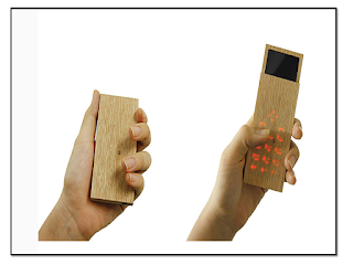 ponsel mirip kayu