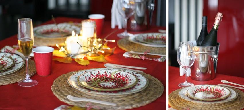 Mesa navideña de cartón con Elegance Party - Decorar en familia11