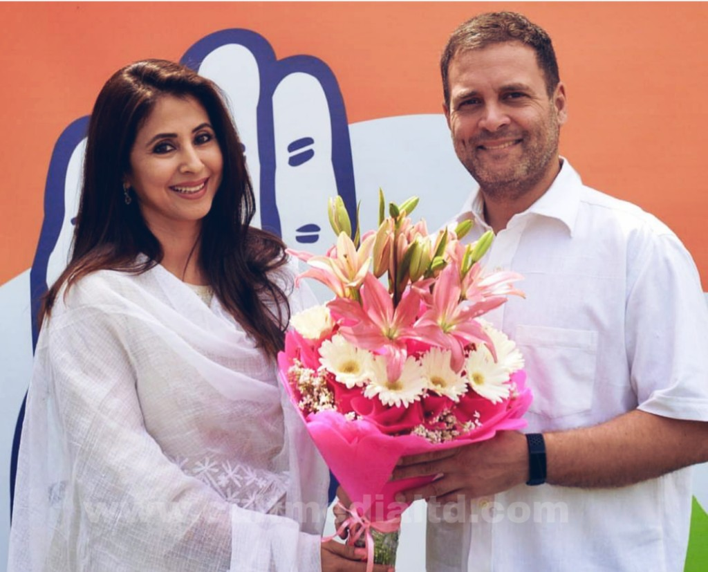 Urmila Matondkar joined the Congress