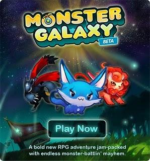 Juegos de Facebook Monster Galaxy