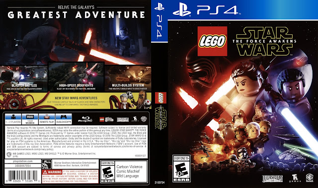 Capa LEGO Star Wars The Force Awakens PS4
