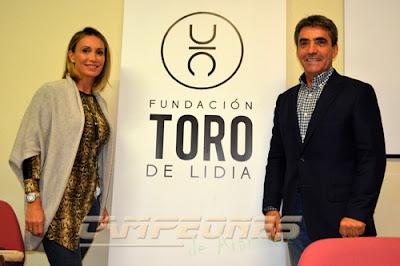 Cristina Sánchez y Victorino Martín Fundación Toro de Lidia Aranjuez