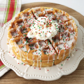 Fluffy Sugar Cookie Waffles