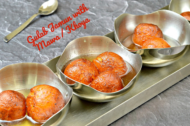 Gulab Jamun Recipe | Gulab Jamun with Khoya (Mawa)